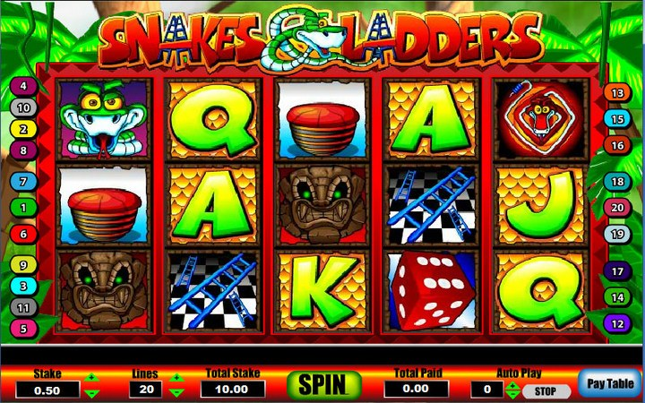 Snakes & Ladders Slots - Free to Play Online Demo Game